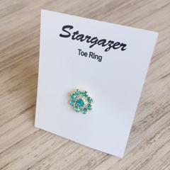 Toe Ring Jewellery Blue - StarGazer