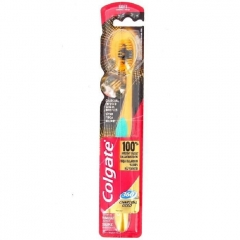 Colgate Toothbrush 360 Degree Charcoal Gold Soft Bristles