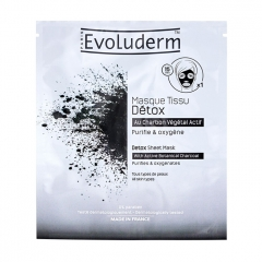 Detox Sheet Mask - Evoluderm