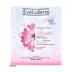 Radiance Fabric Mask with Alpine Plants - Evoluderm