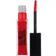 Maybelline - Color Sensational Gloss Vivid Mat 35 Rebel red