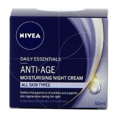Anti-age moisturising night cream