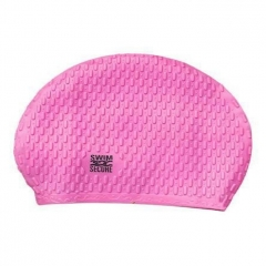 Swim Secure Bathing cap Bubblesilicone Unisex, Pink - Swim secure
